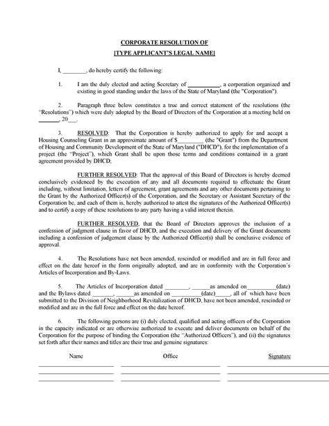 Corporate Lawyer In French Corporate Resolutions Legal Forms Business Forms