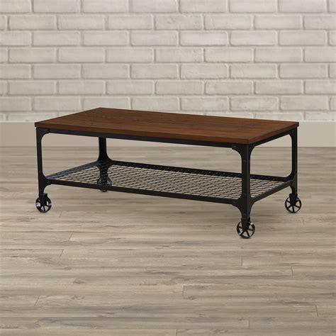 Corvus industrial Coffee Table