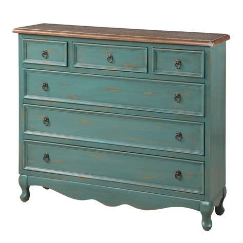 Cottage 6 Drawer Narrow Chest