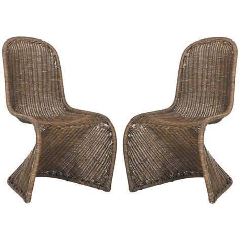 Cottage Bamboo Side Chair (Set of 2)