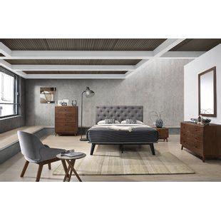 Cottone Modern Platform 4 Piece Bedroom Set byGeorge Oliver