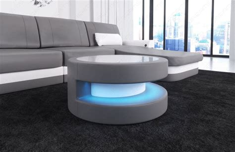 Couchtisch Led Couchtische Fabric Mix Coffee Table Dallas