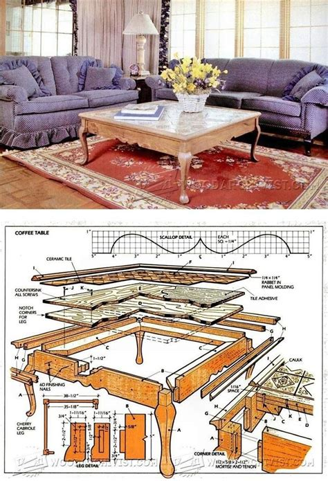 Country Furniture Plans And Projects