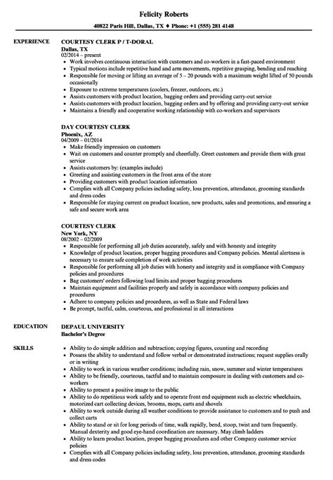 courtesy clerk resume objective congratulations wedding card