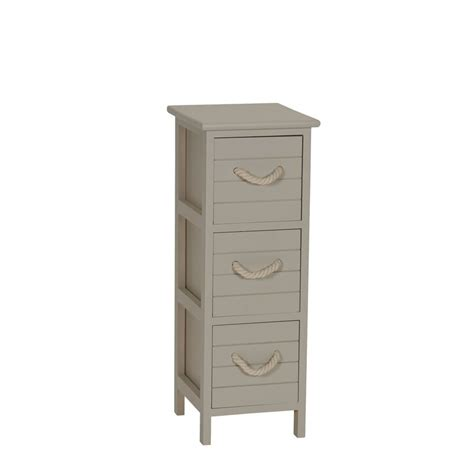 Covell 3 Drawer Accent Chest
