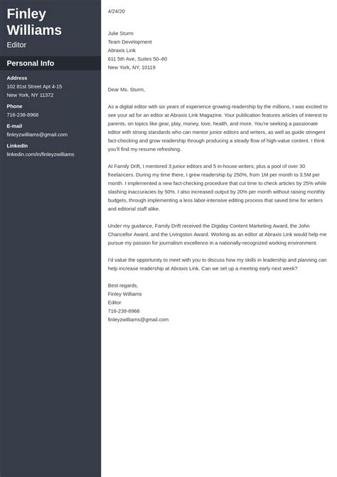 Cover Letter For Resume Canada A Guide To Writing Cover Letters Career Development