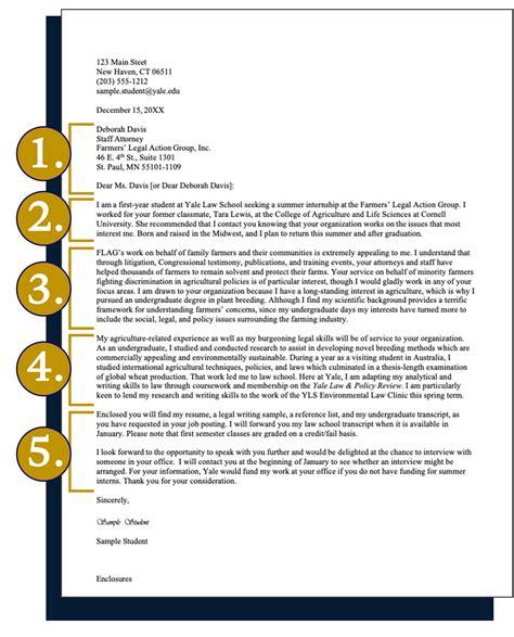 Cornell law school sample cover letter
