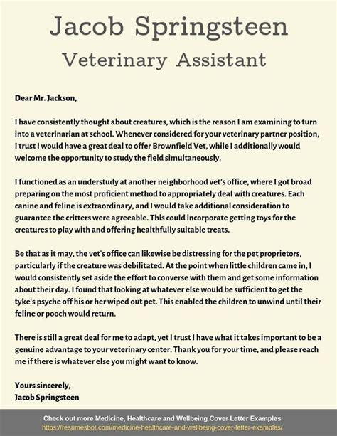 Cover Letter Examples Vet Nurse | Student Resume Accomplishments