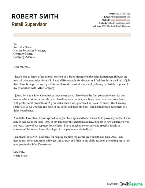 Cover Letter Layout Cover Letter Layout Example And Formatting Tips