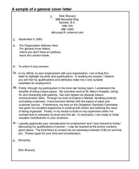 Cover Letter Template Health Professional Free General Cover Letter Template