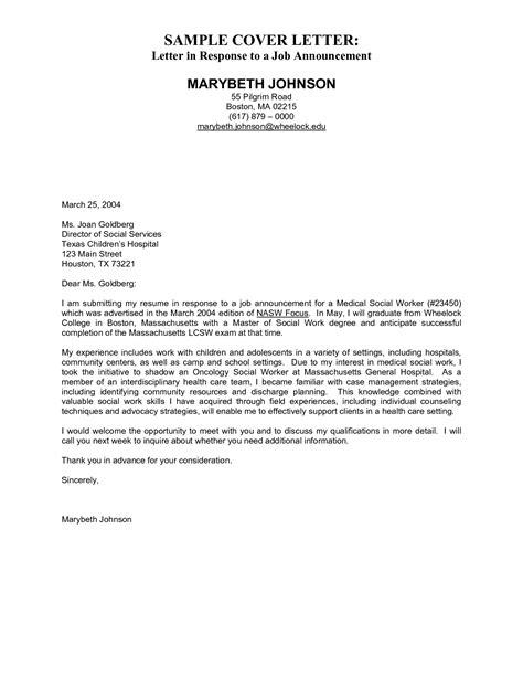 Free Sample Cover Letter For Resume. Cover Letter For High School