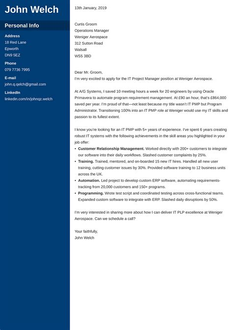 Best Marketing Cover Letter Examples   LiveCareer LiveCareer Cover Letter Tips for Marketing