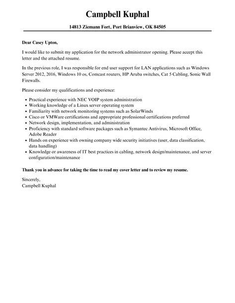 cover letter samples for network administrator network administrator cover letter samples it pathways database administrator database administrator cover letter