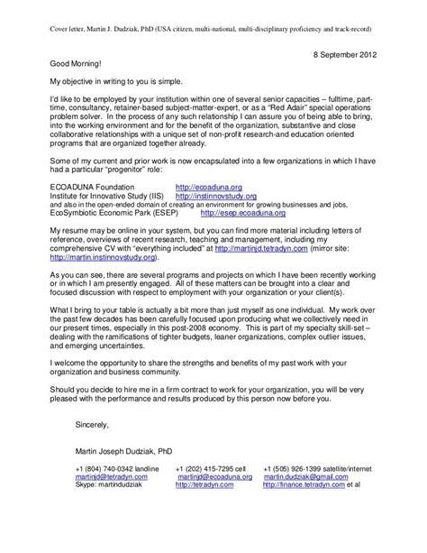 cover letter international development - Cover Letter International Development