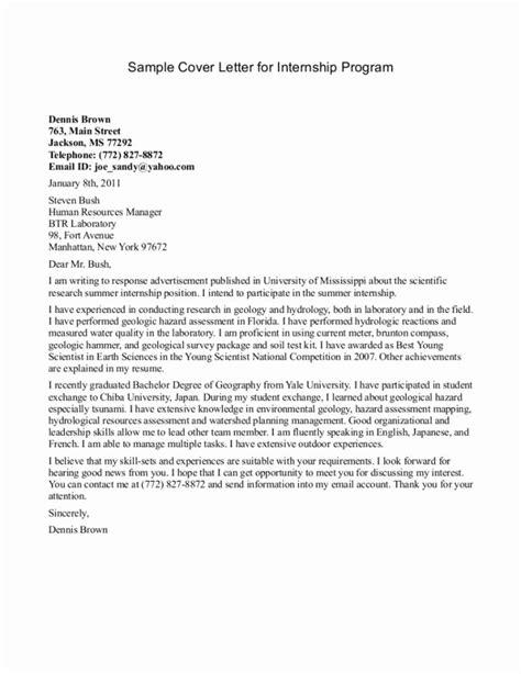 cover letter for nursing internship