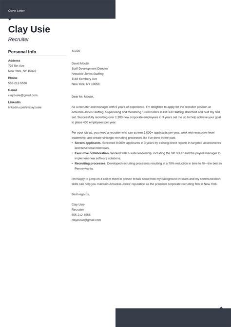 cover letter for cv yahoo cover letter sample to recruiter cover letter samples sample hr recruiter cover letter