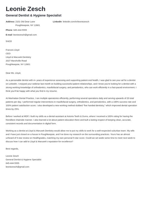 Cover Letters Best Examples The 8 Cover Letters You Need To Read Now