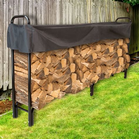 Covered Firewood Storage