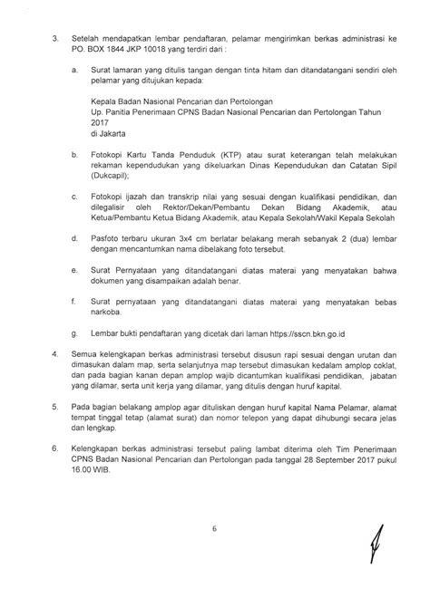 Cpns 2017 Banten 7 Contoh Surat Lamaran Kerja Tulis Tangan Yang Baik Dan