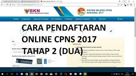 Cpns 2017 Untuk Semua Jurusan Daftar Cpns Online Bolehkah Memperbaiki Data Rekrutmen