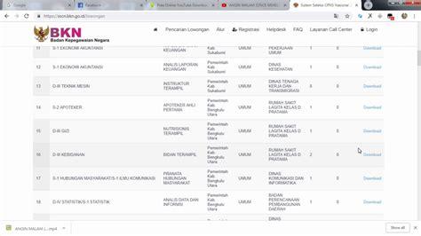 Cpns 2017 Jalur Khusus Formasi Lowongan Cpns Sma Smk Ma Tahun 2018