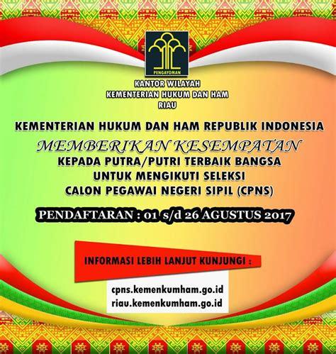 Cpns 2017 Kemenag Kanwil Kementerian Agama Provinsi Aceh Seuramo