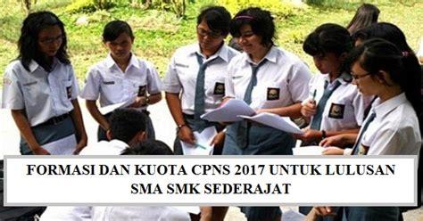 Cpns 2017 Periode 2 Pendaftaran Cpns Smasmk 2017 Berikut Daftar Instansi