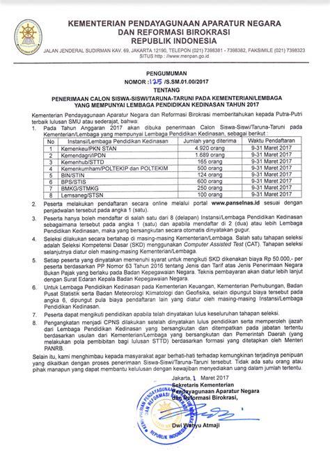 Cpns 2017 Gelombang 2 Sma Pendaftaran Ipdn Ta 2018 2019 Sekolah Ikatan Dinas