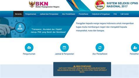Cpns 2017 Makassar Pendaftarannet