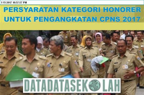 Cpns 2017 Cirebon Pengangkatan Cpns Honorer K2 Menjadi Cpns 2018 Beserta
