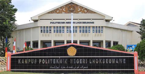Cpns 2017 Jalur Umum Politeknik Negeri Lhokseumawe
