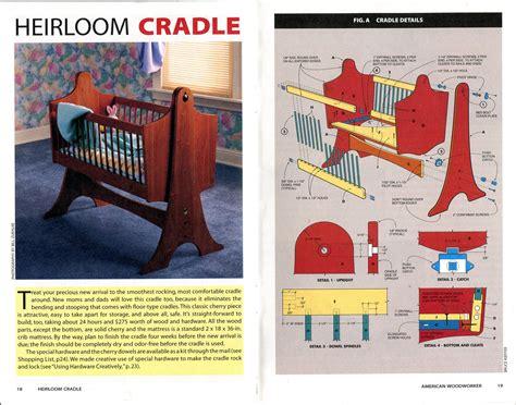 Cradle Design Plans