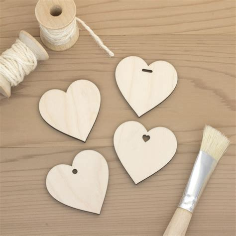 Craft Hearts Wood