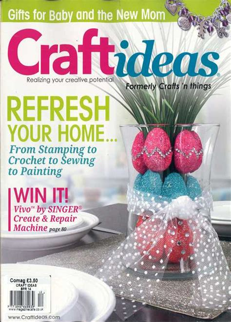 Craft Magazine Subscriptions