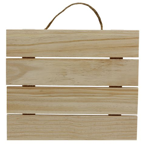 Craft Wood Plaques