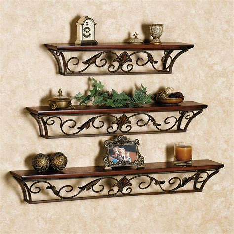 Crafted Wall Accent Shelf