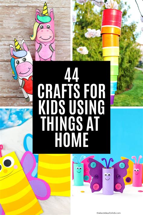 Crafts With Kids From Stuff Around House