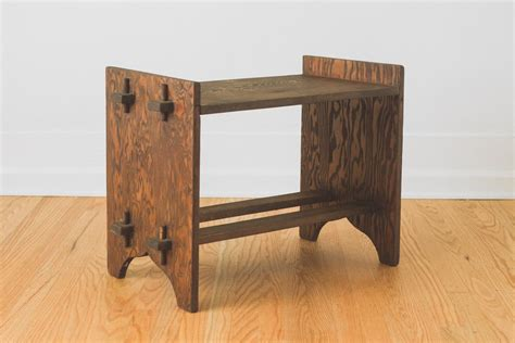 Craftsman Wood Bench