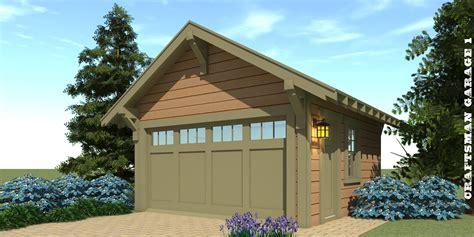 Craftsman Garage Plans