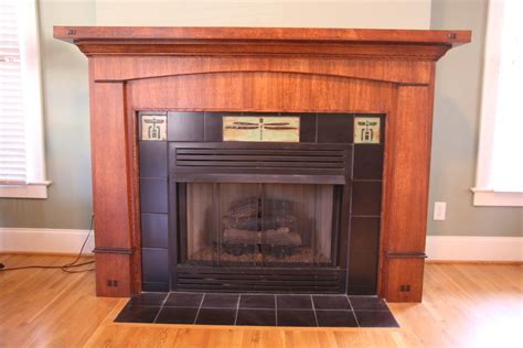 Craftsman Style Fireplace Surround
