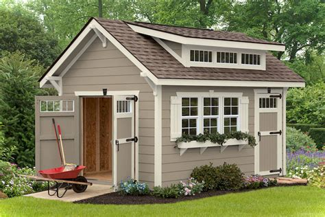 Craftsman Style Shed