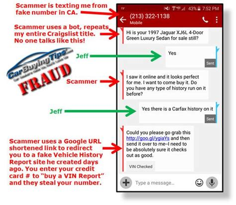 Ebay Edit Credit Card Craigslist Used Car Sellers Fake Vehicle History Report