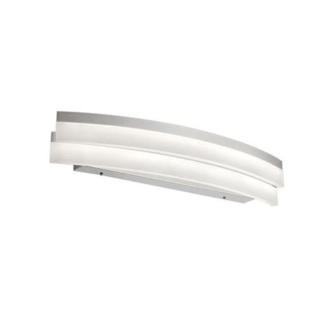 Crater 1-Light LED Bath Bar