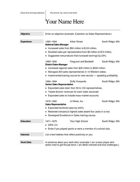 create resume now create a free printable resume - Create A Free Resume Now