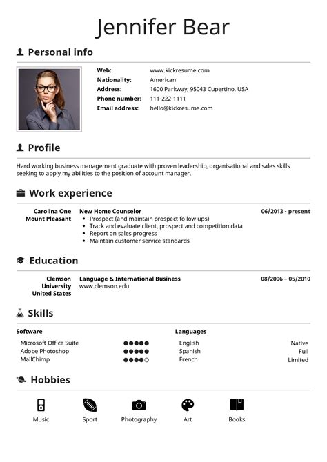 create a perfect resume kickresume perfect resume and cover letter are just a