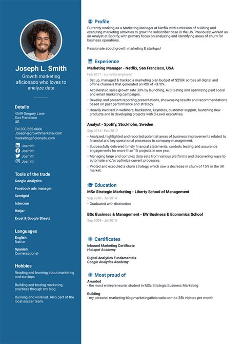 create free resume and download free resume creator print and download your resumes - Create Free Resume And Download