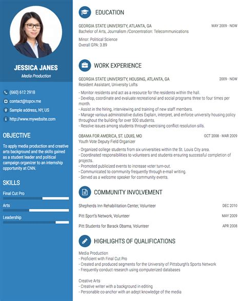 create resume pdf online create curriculum vitae or resume online easily pdfcv resume create online