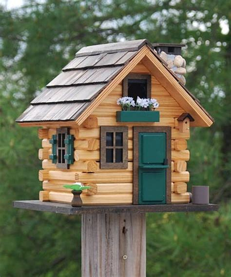 creative bird houses and feeders