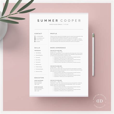 Creative Templates For Resumes Free Creative Resume Templates Canva