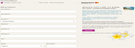 Credit Card Signup Bonus January 2015 50000 Hawaiian Airlines Mile Credit Card Bonus From